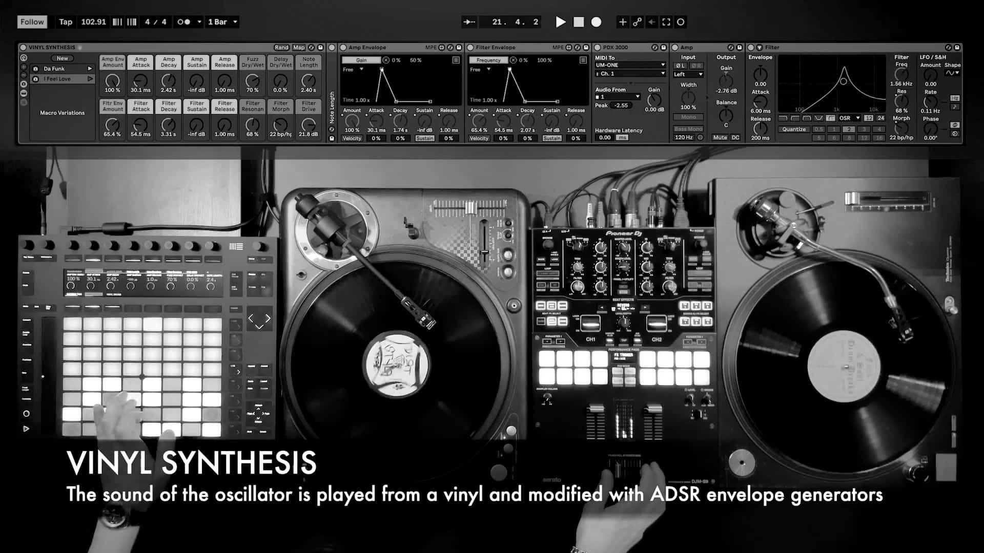 John Hype Vinyl Synthesis